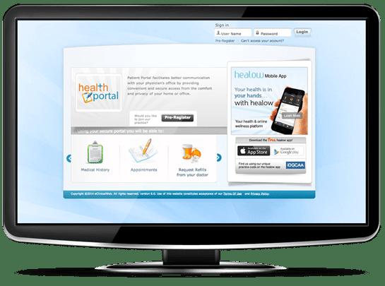 patient-portal-screen