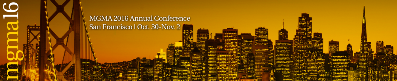 MGMA 2016 Annual Conference
