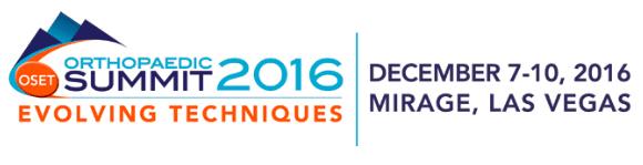 Orthopaedic Summit 2016