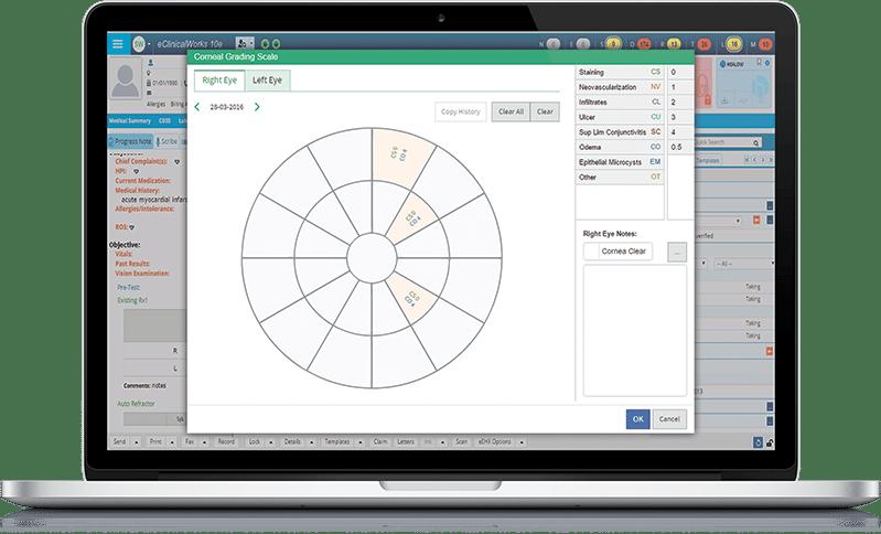Vision care screenshot