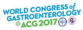 World Congress of Gastroenterology @ ACG 2017