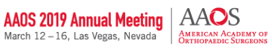 AAOS 2019 Annual Meeting