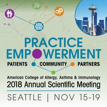 2018 ACAAI Annual Scientific Meeting