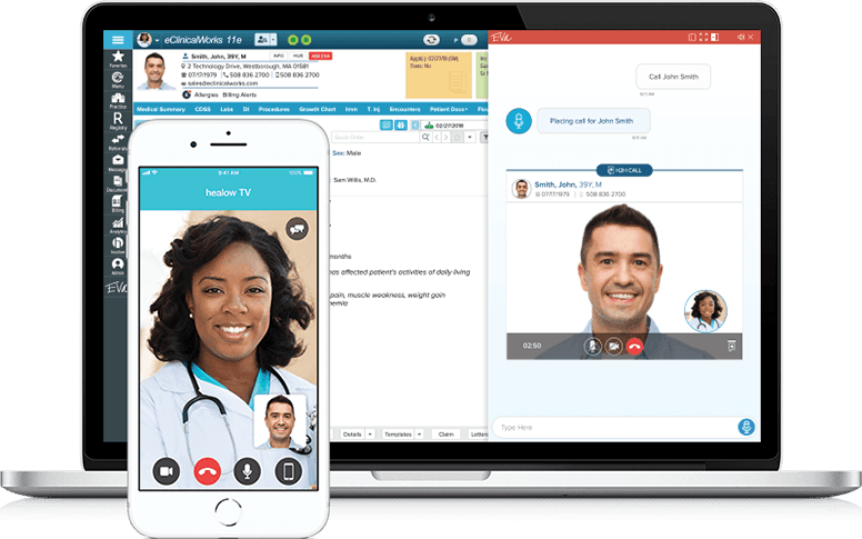 healow TeleVisits Telehealth