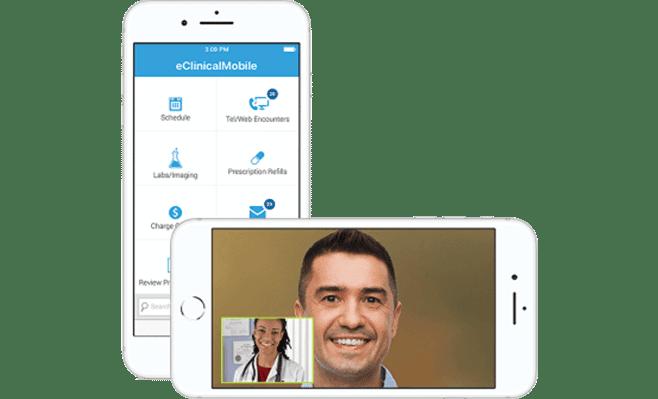 provider mobile visit screenshot
